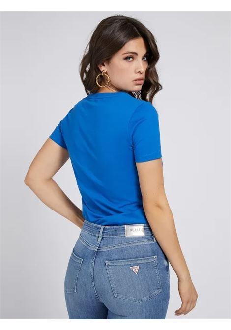 T-SHIRT LOGO ICON APPLICAZIONI GUESS | T-shirt | W1RI25 I3Z00G7EI