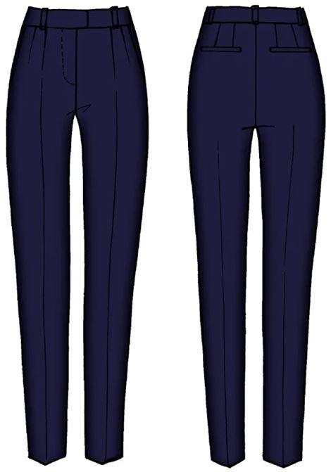 PANTALONE SLIM MARCIANO MARCIANO | Pantalone | 1GG106 9545ZF7FU