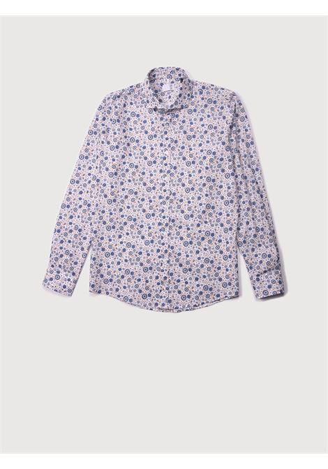 Camicia fantasia QB24 | Camicie | CFC0100301 003BIANCO