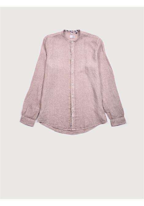 Camicia m/l QB24 | Camicie | CFC0100309 003MARRONE CIOCCOLATO