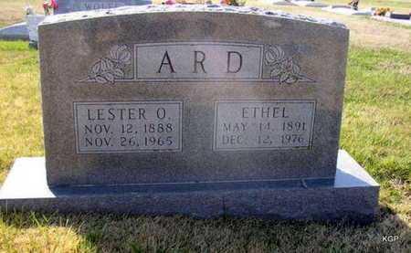 ARD, ETHEL - Allen County, Kansas | ETHEL ARD - Kansas Gravestone Photos