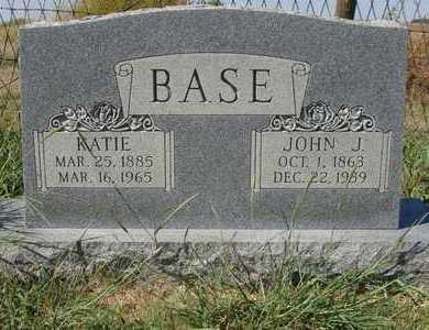 BASE, JOHN J - Barton County, Kansas | JOHN J BASE - Kansas Gravestone Photos