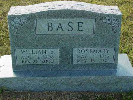 BASE, ROSEMARY - Barton County, Kansas | ROSEMARY BASE - Kansas Gravestone Photos