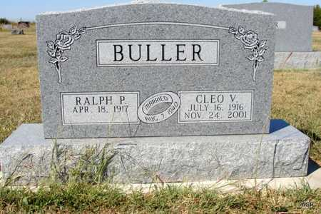 BULLER, RALPH PAUL - Barton County, Kansas | RALPH PAUL BULLER - Kansas Gravestone Photos