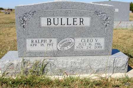SMITH BULLER, CLEO VELMA - Barton County, Kansas | CLEO VELMA SMITH BULLER - Kansas Gravestone Photos