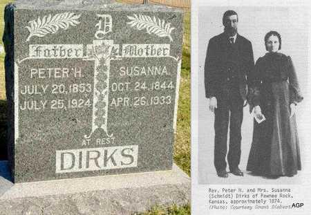 SCHMIDT DIRKS, SUSANNA - Barton County, Kansas | SUSANNA SCHMIDT DIRKS - Kansas Gravestone Photos