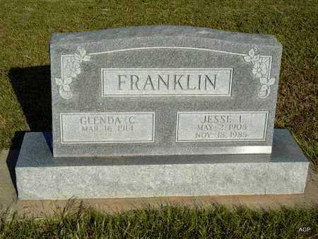 FRANKLIN, JESSE L - Barton County, Kansas | JESSE L FRANKLIN - Kansas Gravestone Photos