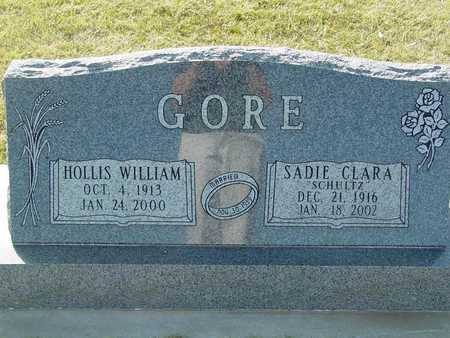SCHULTZ GORE, SADIE CLARA - Barton County, Kansas | SADIE CLARA SCHULTZ GORE - Kansas Gravestone Photos
