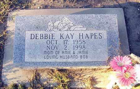 HAPES, DEBBIE KAY - Barton County, Kansas | DEBBIE KAY HAPES - Kansas Gravestone Photos