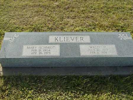 KLIEVER, MARY - Barton County, Kansas   MARY KLIEVER - Kansas Gravestone Photos