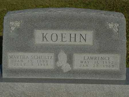 KOEHN, LAWRENCE - Barton County, Kansas | LAWRENCE KOEHN - Kansas Gravestone Photos