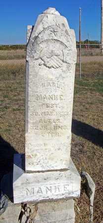 MANKE, KARL - Barton County, Kansas | KARL MANKE - Kansas Gravestone Photos