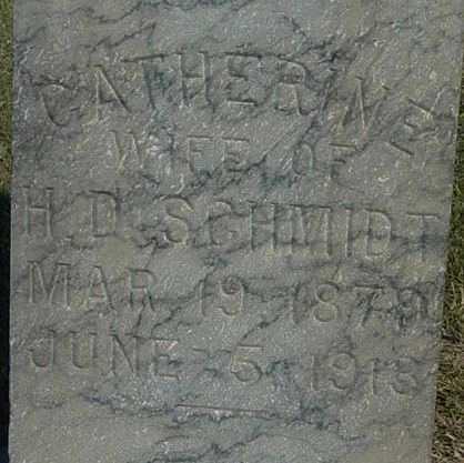 SCHMIDT, CATHERINE - Barton County, Kansas   CATHERINE SCHMIDT - Kansas Gravestone Photos