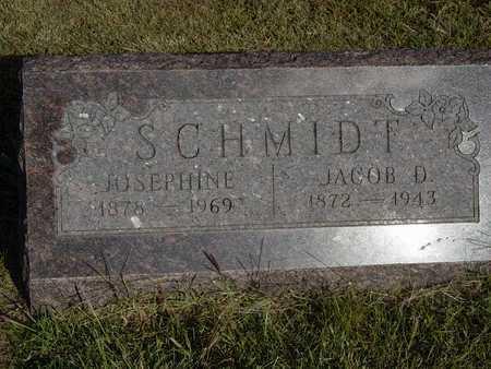 SIEBERT SCHMIDT, JOSEPHINE - Barton County, Kansas   JOSEPHINE SIEBERT SCHMIDT - Kansas Gravestone Photos