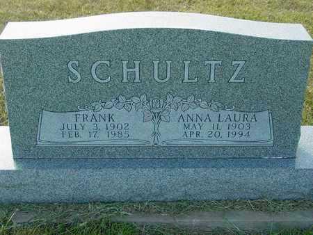 SCHULTZ, ANNA LAURA - Barton County, Kansas   ANNA LAURA SCHULTZ - Kansas Gravestone Photos