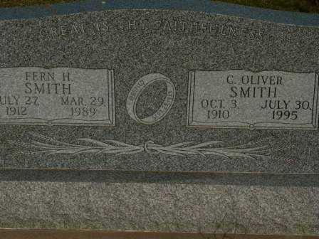 SMITH, FERN H - Barton County, Kansas | FERN H SMITH - Kansas Gravestone Photos