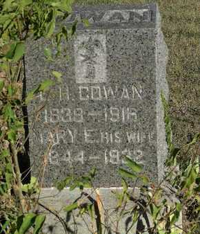 COWAN, MARY ELIZABETH - Bourbon County, Kansas | MARY ELIZABETH COWAN - Kansas Gravestone Photos
