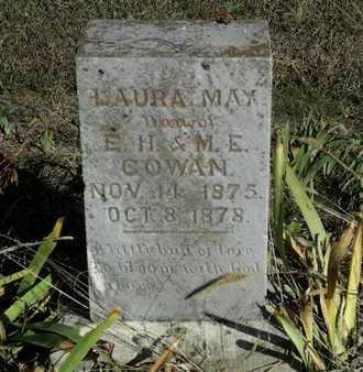 COWAN, LAURA MAY - Bourbon County, Kansas | LAURA MAY COWAN - Kansas Gravestone Photos