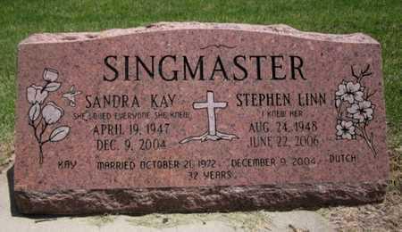 SINGMASTER, STEPHEN LINN - Bourbon County, Kansas | STEPHEN LINN SINGMASTER - Kansas Gravestone Photos