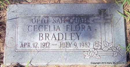 "GOSLIN BRADLEY, CECELIA FLORA ""OPTO-SAH-QUAH"" - Brown County, Kansas | CECELIA FLORA ""OPTO-SAH-QUAH"" GOSLIN BRADLEY - Kansas Gravestone Photos"