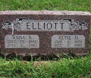 ELLIOTT, ANNA BELLE - Butler County, Kansas | ANNA BELLE ELLIOTT - Kansas Gravestone Photos
