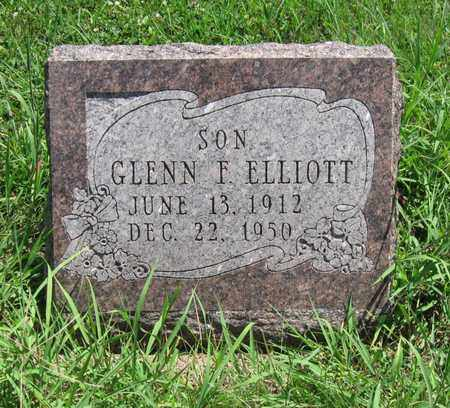 ELLIOTT, GLENN F - Butler County, Kansas | GLENN F ELLIOTT - Kansas Gravestone Photos