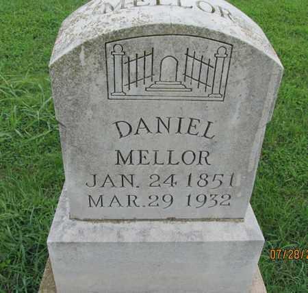 MELLOR, DANIEL - Chautauqua County, Kansas | DANIEL MELLOR - Kansas Gravestone Photos
