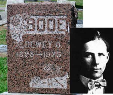 BOOE, DEWEY OTIS - Cherokee County, Kansas | DEWEY OTIS BOOE - Kansas Gravestone Photos