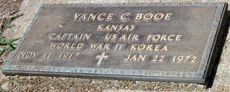 BOOE, VANCE C  (VETERAN 2 WARS) - Cherokee County, Kansas | VANCE C  (VETERAN 2 WARS) BOOE - Kansas Gravestone Photos