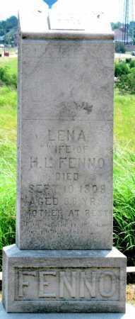 FENNO, LENA - Cherokee County, Kansas   LENA FENNO - Kansas Gravestone Photos
