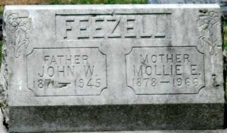 FREEZELL, MOLLIE E - Cherokee County, Kansas | MOLLIE E FREEZELL - Kansas Gravestone Photos