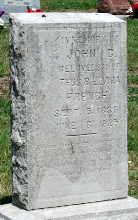 FRENCH, JOHN G - Cherokee County, Kansas   JOHN G FRENCH - Kansas Gravestone Photos