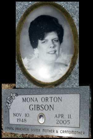 "GIBSON, RAMONA G ""MONA"" - Cherokee County, Kansas | RAMONA G ""MONA"" GIBSON - Kansas Gravestone Photos"