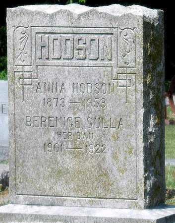 COVERT HODSON, ANNA - Cherokee County, Kansas   ANNA COVERT HODSON - Kansas Gravestone Photos