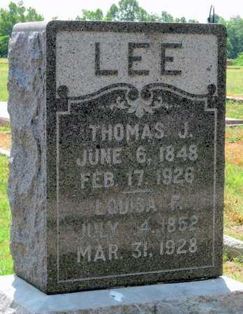 LEE, LOUISA F - Cherokee County, Kansas | LOUISA F LEE - Kansas Gravestone Photos