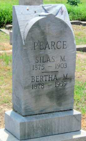 PEARCE, SILAS M - Cherokee County, Kansas   SILAS M PEARCE - Kansas Gravestone Photos