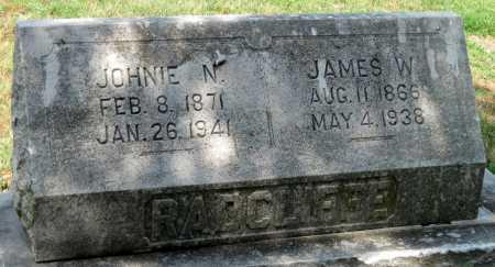 RADCLIFFE, JOHNIE N - Cherokee County, Kansas | JOHNIE N RADCLIFFE - Kansas Gravestone Photos