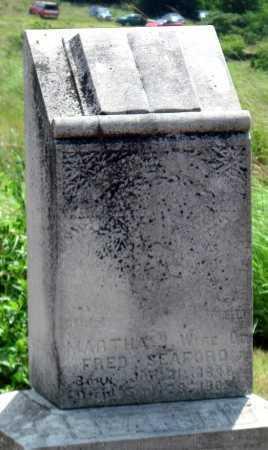 SEAFORD, MARTHA JANE - Cherokee County, Kansas | MARTHA JANE SEAFORD - Kansas Gravestone Photos