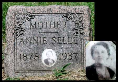 SELLE, ANNIE - Cherokee County, Kansas | ANNIE SELLE - Kansas Gravestone Photos