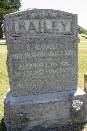 BAILEY, ELEANOR ELIZABETH - Cowley County, Kansas   ELEANOR ELIZABETH BAILEY - Kansas Gravestone Photos