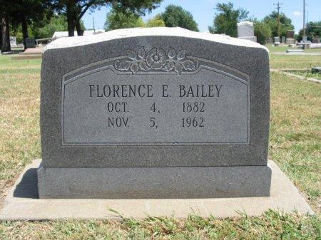 BAILEY, FLORENCE E - Cowley County, Kansas | FLORENCE E BAILEY - Kansas Gravestone Photos