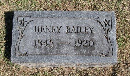 BAILEY, HENRY - Cowley County, Kansas | HENRY BAILEY - Kansas Gravestone Photos