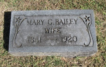 BAILEY, MARY GRACE - Cowley County, Kansas | MARY GRACE BAILEY - Kansas Gravestone Photos