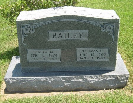 BAILEY, HATTIE MAY - Cowley County, Kansas | HATTIE MAY BAILEY - Kansas Gravestone Photos