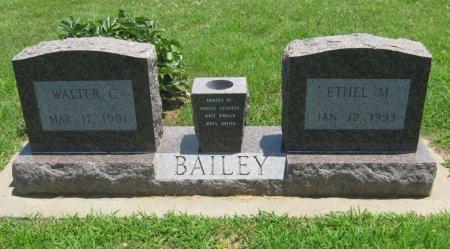 BAILEY, WALTER CHARLES (VETERAN WWII) - Cowley County, Kansas   WALTER CHARLES (VETERAN WWII) BAILEY - Kansas Gravestone Photos