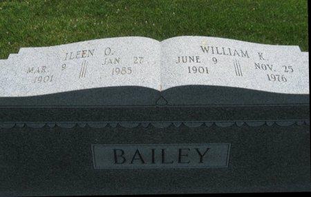 BAILEY, ILEEN O - Cowley County, Kansas | ILEEN O BAILEY - Kansas Gravestone Photos