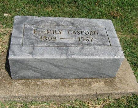 CASFORD, E EMILY - Cowley County, Kansas   E EMILY CASFORD - Kansas Gravestone Photos