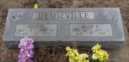 DEMIEVILLE, EUGENE - Cowley County, Kansas | EUGENE DEMIEVILLE - Kansas Gravestone Photos