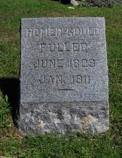 FULLER, HOMER GOULD - Cowley County, Kansas | HOMER GOULD FULLER - Kansas Gravestone Photos