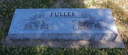 FULLER, JOHN MATTHIAS - Cowley County, Kansas | JOHN MATTHIAS FULLER - Kansas Gravestone Photos